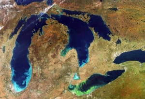Photograph 2 Lake Erie Algal Bloom