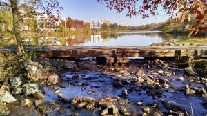 Lake K from dam