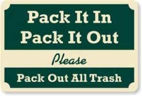 pack it in